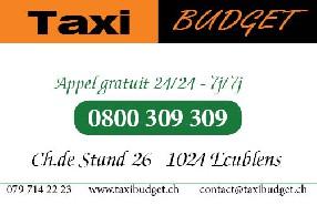 taxi budget lausanne et région Saint-Sulpice
